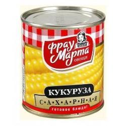 """Кукуруза сахарная """"Фрау Марта"""", 310 г (15*1)"""