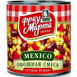 """Овощная смесь Мексико в томатном соусе """"Фрау Марта"""" (310 гр * 15 шт)"""