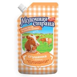 """Сгущенка и сливки """"Молочная страна"""", 270 г (12*1)"""