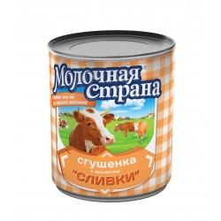 """Сгущенка и сливки """"Молочная страна"""", 360 г (15*1)"""