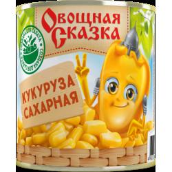 """Кукуруза сахарная """"Овощная сказка"""", 310 г (15*1)"""